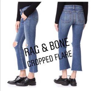 Rag & Bone  10 inch Cropped Flare